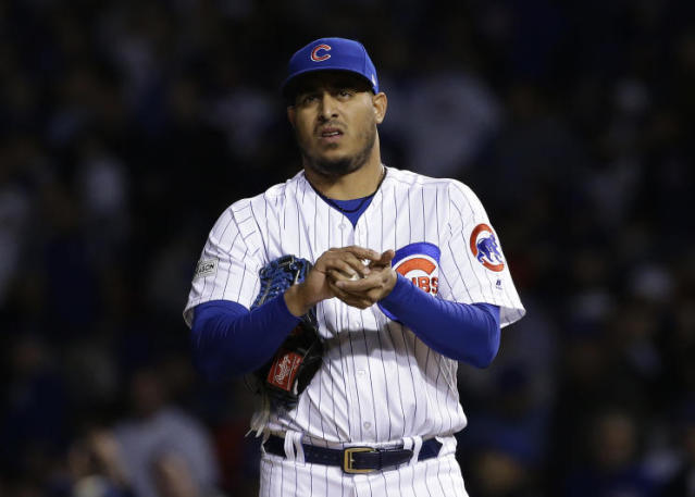 Former Cubs closer Hector Rondon is a strong bounce back candidate. (AP)