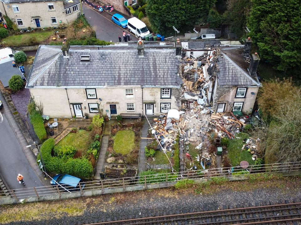 The body of a woman has been found after an explosion at a house in Greater Manchester. (Mercury)