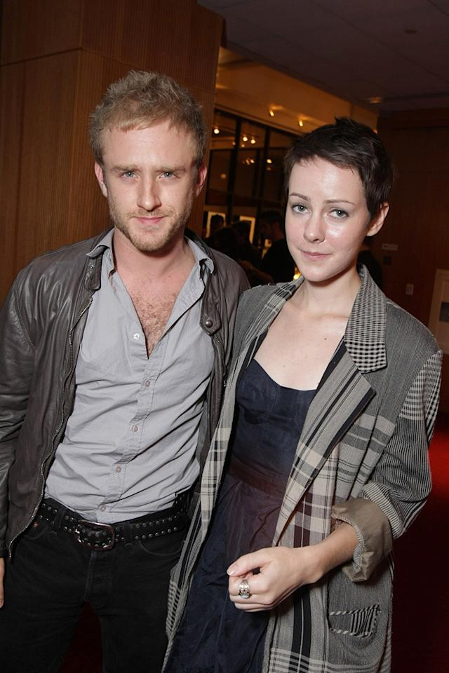 """<a href=""""http://movies.yahoo.com/movie/contributor/1800332837"""">Ben Foster</a> and <a href=""""http://movies.yahoo.com/movie/contributor/1800019377"""">Jena Malone</a> at the after party for the Los Angeles premiere of <a href=""""http://movies.yahoo.com/movie/1810041985/info"""">Milk</a> - 11/13/2008"""