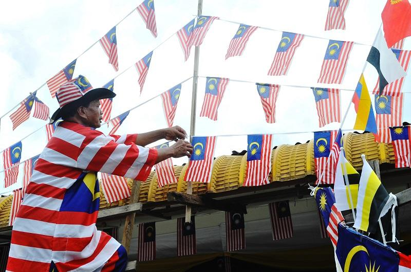The ministry encouraged the public to fly the Jalur Gemilang ahead of National Day. — Bernama pic