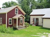 """<p>This beautiful (and tiny) town is thought to be inspired by <a href=""""http://www.virtualvermont.com/towns/tinmouth.html"""" rel=""""nofollow noopener"""" target=""""_blank"""" data-ylk=""""slk:two English towns"""" class=""""link rapid-noclick-resp"""">two English towns</a> that have similar-sounding names: Tynemouth and Teignmouth.</p><p><a href=""""https://commons.wikimedia.org/wiki/File:2004_library_Tinmouth_Vermont_113904974.jpg#/media/File:2004_library_Tinmouth_Vermont_113904974.jpg"""" rel=""""nofollow noopener"""" target=""""_blank"""" data-ylk=""""slk:Photo by Jared and Corin via Wikimedia"""" class=""""link rapid-noclick-resp""""><em>Photo by Jared and Corin via Wikimedia</em></a></p>"""