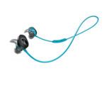 """<p>These <span>Bose SoundSport Wireless Headphones</span> ($129) are sweat- and weather-resistant, meaning they can withstand a supersweaty cardio sesh or a run in the rain. With six hours of battery life, you'll definitely get through a long run (or two), while the """"StayHear+ Sport tips create a gentle seal"""" to improve sound quality and secure the buds in place in your ears.</p>"""