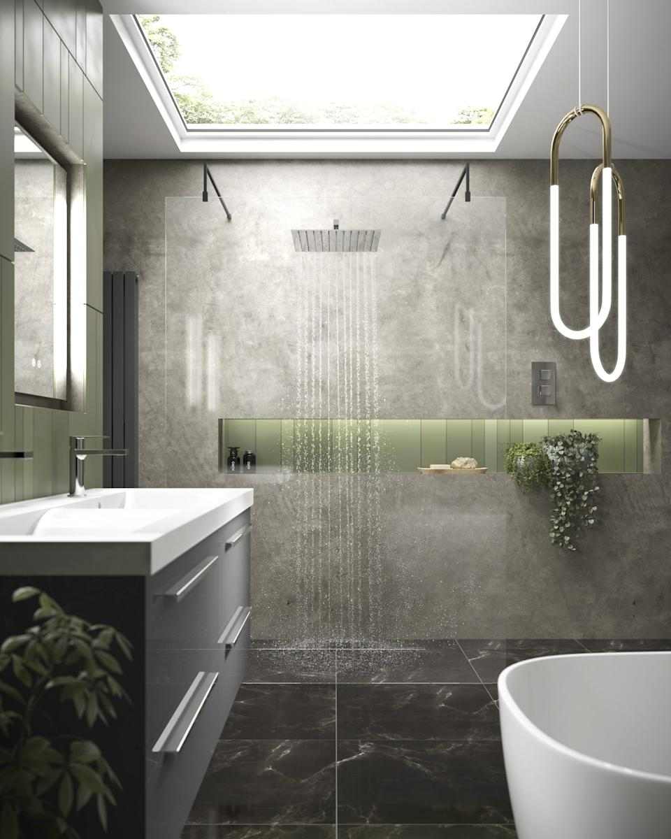Wet room ideas. Hudson Reed