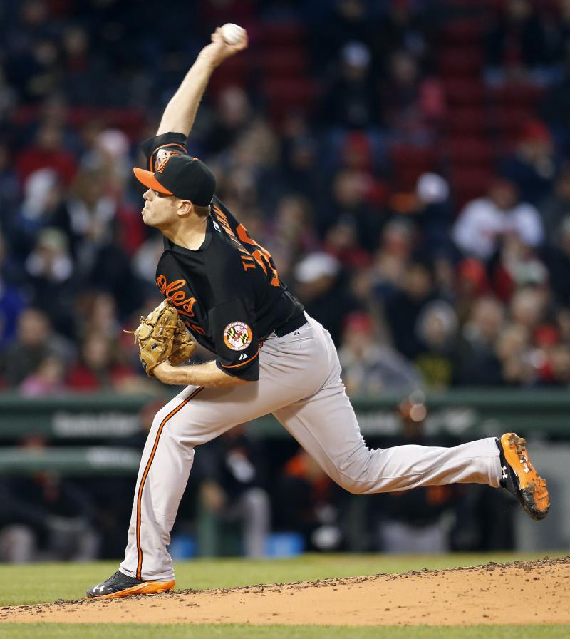 Orioles cruise to 8-4 win over Red Sox