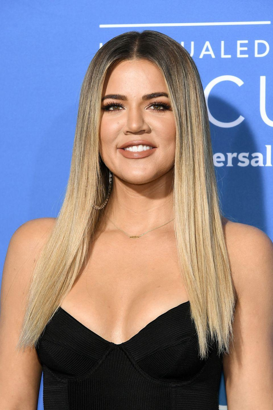 """<p>It's no secret Khloé Kardashian has undergone plastic surgery, but she wasn't entirely happy with her face fillers. She had to get them dissolved because <a href=""""https://youtu.be/yA-G2AjQEbY?t=66"""" rel=""""nofollow noopener"""" target=""""_blank"""" data-ylk=""""slk:she said they made her look 'crazy"""" class=""""link rapid-noclick-resp"""">she said they made her look 'crazy</a>.'</p>"""