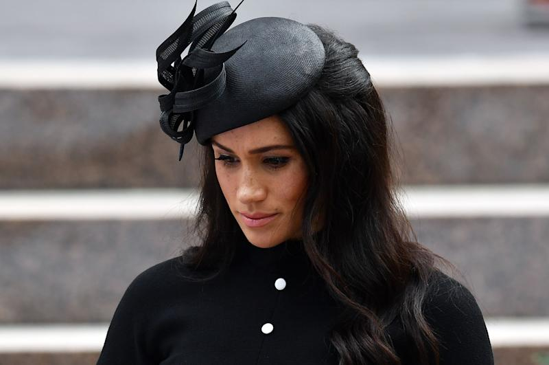 Meghan Markle not sick on royal tour