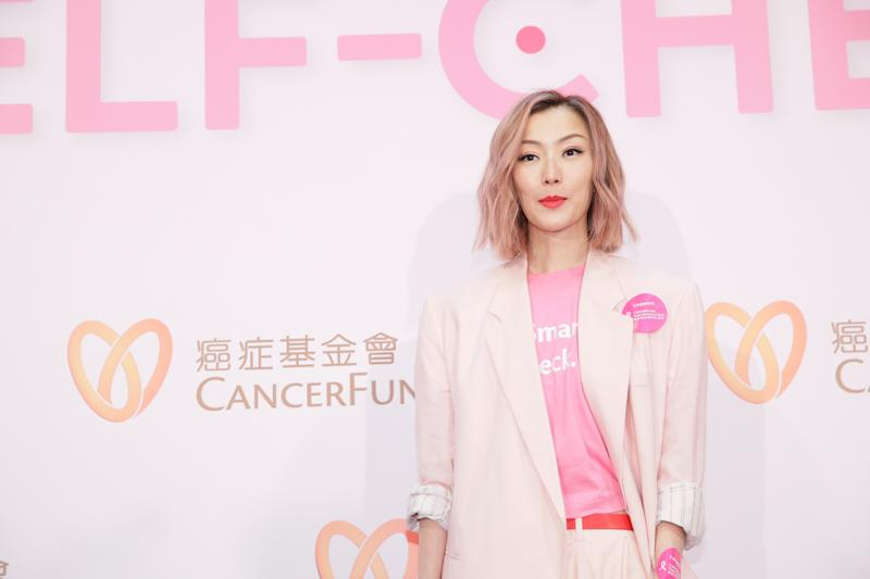 HONG KONG, CHINA - SEPTEMBER 03: Singer/actress Sammi Cheng Sau-man attends a Hong Kong Cancer Fund event on September 3, 2019 in Hong Kong, China. (Photo by VCG/VCG via Getty Images)