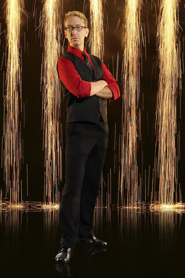"""American comedian, actor, writer, director, musician and producer, Andy Dick joins first time professional partner Sharna Burgess on """"Dancing With the Stars"""" Season 16, premiering March 18 on ABC."""