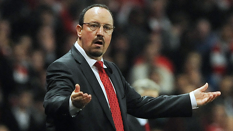 'You have to go for it' - Benitez reveals what he told Liverpool players at half-time of 2005 Champions League final