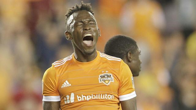 Alberth Elis MLS Houston Dynamo 04142017