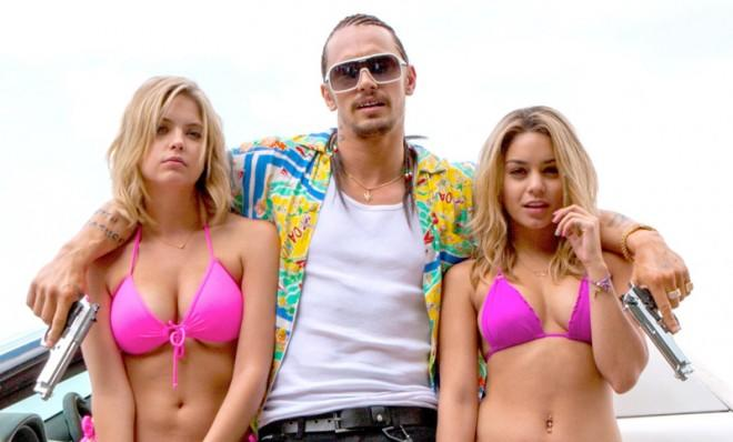 James Franco's character was inspired by a local Florida rapper named Dangeruss.