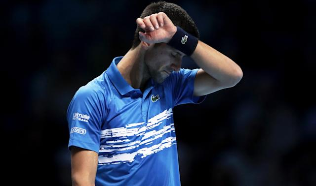 Despite concerns over his elbow, Novak Djokovic is set to play at the Davis Cup Finals.