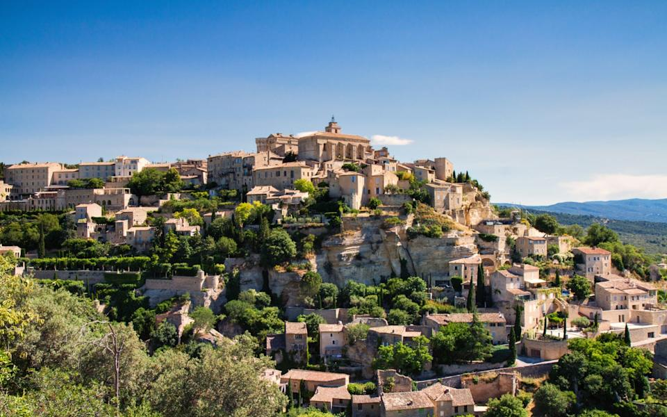You'll find remnants of the plague wall near the town of Gordes - Getty