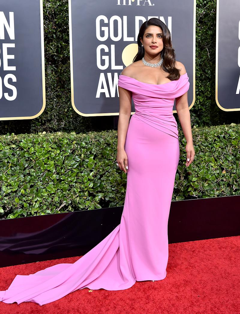 Priyanka Chopra wore Skims shapewear at the Golden Globe Awards 2020