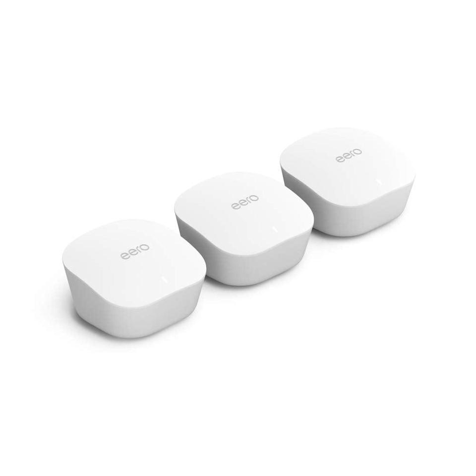 <p><span>Amazon eero Mesh WiFi System   Router Replacement For Whole-Home Coverage (3-pack)</span> ($169, originally $199)</p>
