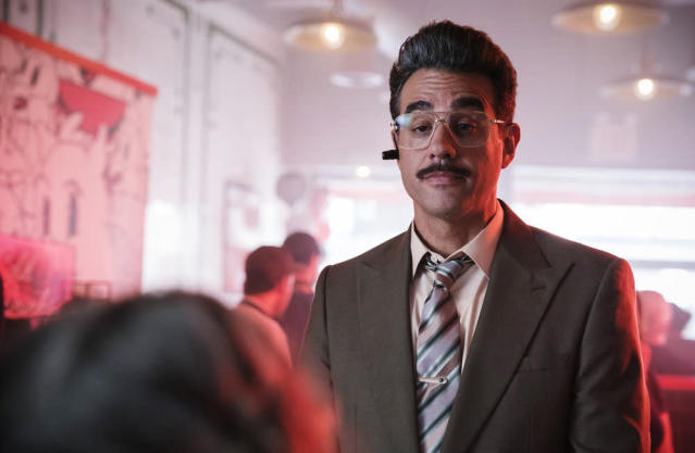 Bobby Cannavale as Irving in <em>Mr. Robot.</em> (Photo: Peter Kramer/USA Network)