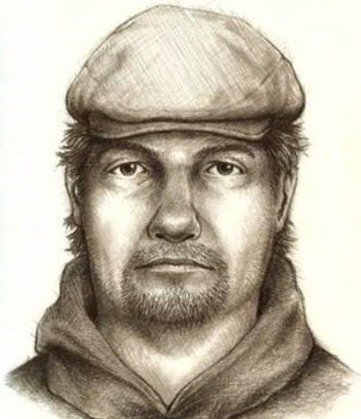 Suspect sketch released by Indiana State Police. (Indiana State Police)