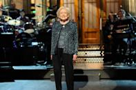 <p>As a result of her viral commercial, there was an online campaign for the actress to host <em>Saturday Night Live</em>. The show delivered; at 88, White became the oldest person to host. The appearance earned her an Emmy for outstanding guest actress in a comedy series. </p>