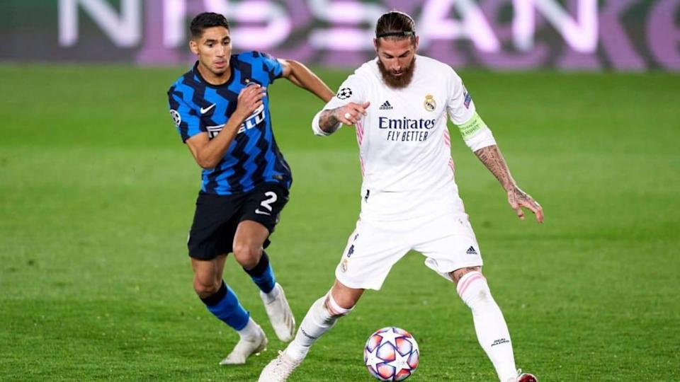 Sergio Ramos, Achraf Hakimi   Quality Sport Images/Getty Images