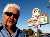 "<p>The production team compiles all their research and puts it into a list of options about two months before filming starts — then <a href=""https://people.com/food/guy-fieri-secrets-from-set-triple-d/"" rel=""nofollow noopener"" target=""_blank"" data-ylk=""slk:Guy makes the final decision"" class=""link rapid-noclick-resp"">Guy makes the final decision</a> about where to go.</p>"