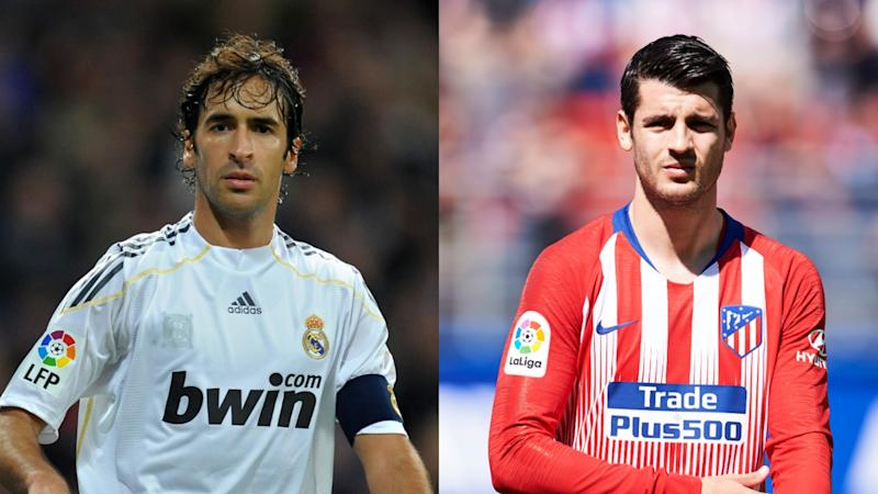 Raul, Morata and Courtois - Llorente the latest player to cross Madrid divide
