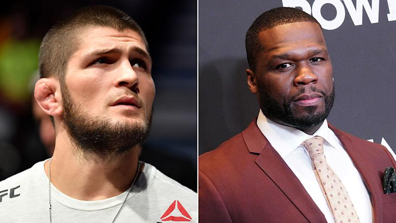 Mayweather continues to hype boxing match with Nurmagomedov