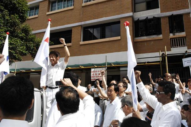 PAP leaders were quick to comment on WP's expulsion of Yaw Shin Leong. (Photo courtesy of Terence Lee)