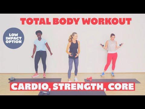 """<p>Although the Body Project's YouTube channel is jam-packed with a variety of workouts, you'll find no shortage of heart-pumping HIIT videos, both high- and low-impact, to do sans equipment. Run by (literal) power couple Daniel and Alexandra, the pair prides themselves on not being """"fitness models"""" who """"exercise for two to three hours a day.""""</p><p><a href=""""https://www.youtube.com/watch?v=Gt4OlweHzNk"""" rel=""""nofollow noopener"""" target=""""_blank"""" data-ylk=""""slk:See the original post on Youtube"""" class=""""link rapid-noclick-resp"""">See the original post on Youtube</a></p>"""