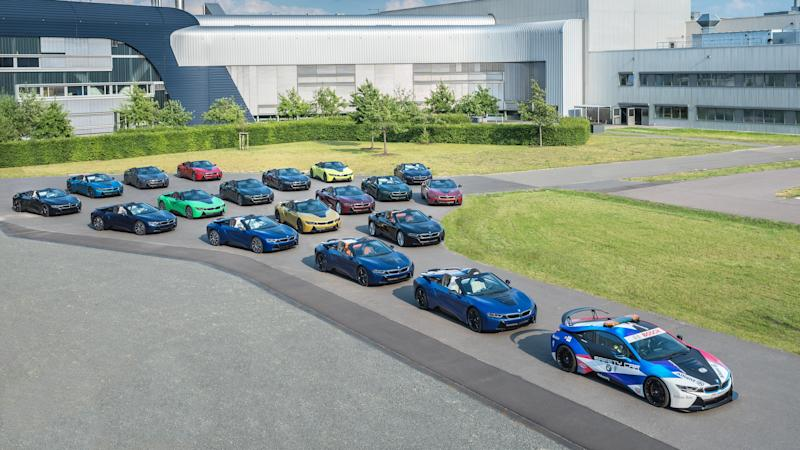 BMW heralds end of i8 production with colourful one-off models