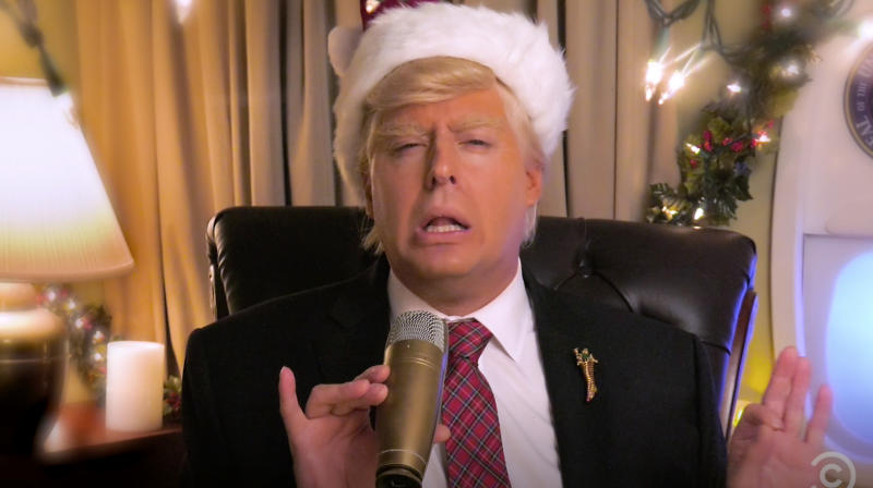 Here's An Exclusive Look At 'The President Show' Christmas Special
