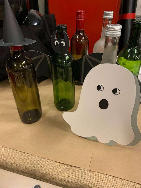 PHOTO: DIY these witchy wine bottle covers from Brit Morin, the founder and CEO of Brit + Co. (ABC)
