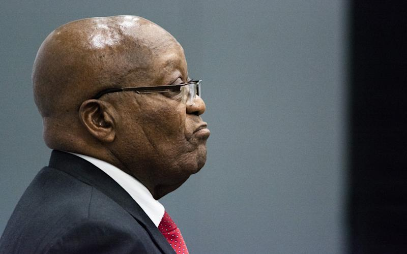 Mr Zuma has begun to answer accusations that he consented to and benefited from widespread looting during his nine-year rule - Bloomberg