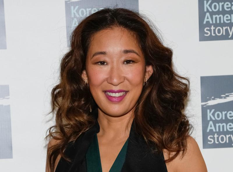 The first images from Sandra Oh's brand new series are here, and we're *so* worried for our favorite person