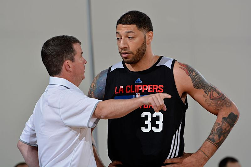 Royce White's last NBA action came with the Los Angeles Clippers during the 2015 Orlando Summer League. (Getty Images)
