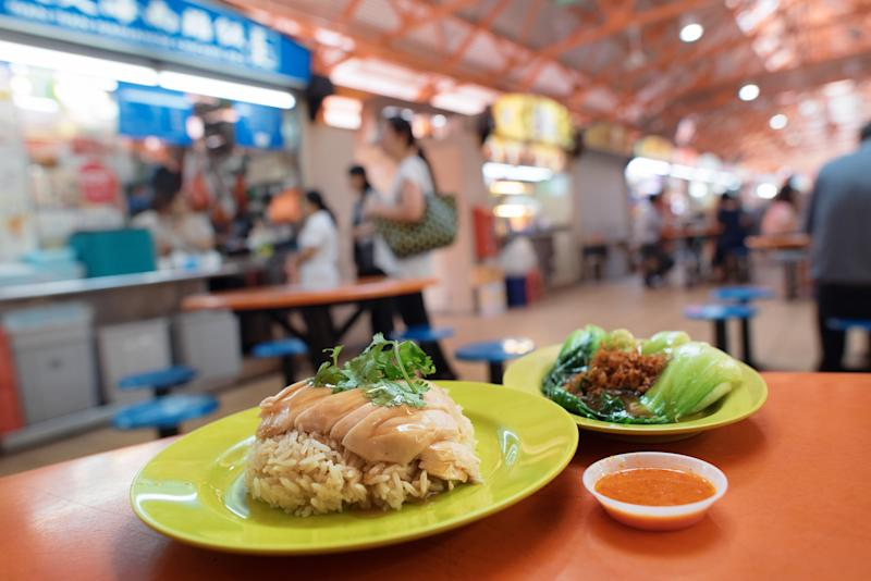 Traditional chicken rice is a local favourite. Source: Singapore Tourism Board, The ultimate Crazy Rich Asians guide to Singapore