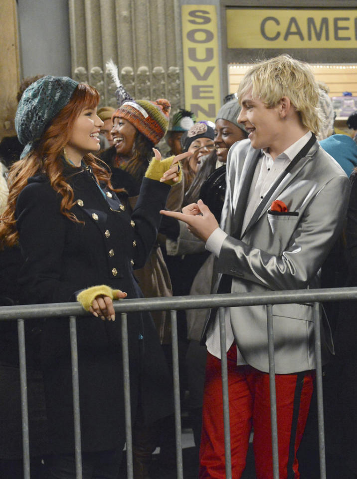 """Austin, Ally, Trish and Dez travel to Times Square where Austin is booked to perform on New Year's Eve. When they can't get through New York City's crowded streets, Jessie comes up with a plan to get them to the stage and to ultimately have Austin record one of her songs. Three songs are performed in the hour-long episode: """"Face to Face,"""" a duet by Austin (Ross Lynch) and Jessie (Debby Ryan), and """"Christmas Soul"""" and """"Can You Feel It"""" by Austin. This special crossover episode will air FRIDAY, DECEMBER 7 (8:00 - 9:00 p.m., ET/PT), on Disney Channel."""