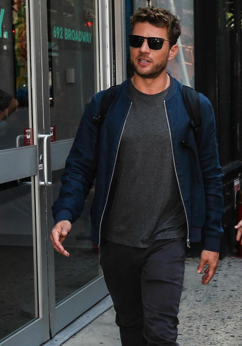 Source close to the actor told TMZ that Elsie was the one who actually attacked Ryan. He is pictured here in New York City in July this year. Source: Getty