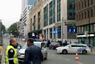 Brussels bomb alert sparked by man with 'suicide belt' of salt and biscuits
