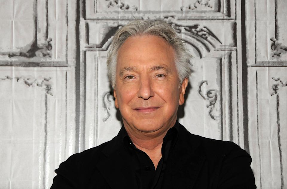 Alan Rickman attends AOL Build Speaker Series Presents: Alan Rickman at AOL Studios In New York on June 19, 2015 in New York City.  (Photo by Desiree Navarro/WireImage)