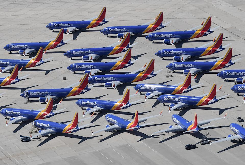The Boeing 737 MAX plane was grounded after two crashes that killed a total of 346 people in 2018 and 2019.