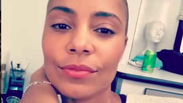 Sanaa Lathan Shaved Her Head And We're Completely Obsessed