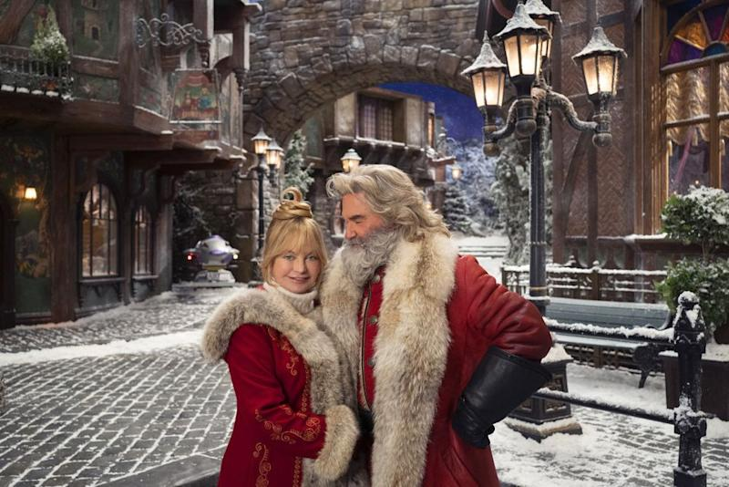 Goldie Hawn and Kurt Russell in the first image forThe Christmas Chronicles 2 | Netflix