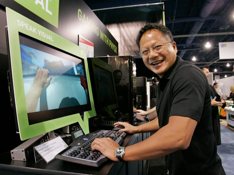 Nvidia is rising after crushing earnings (NVDA)
