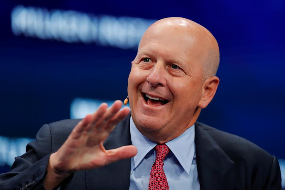 David M Solomon, chairman and CEO of Goldman Sachs. Photo: Mike Blake/Reuters