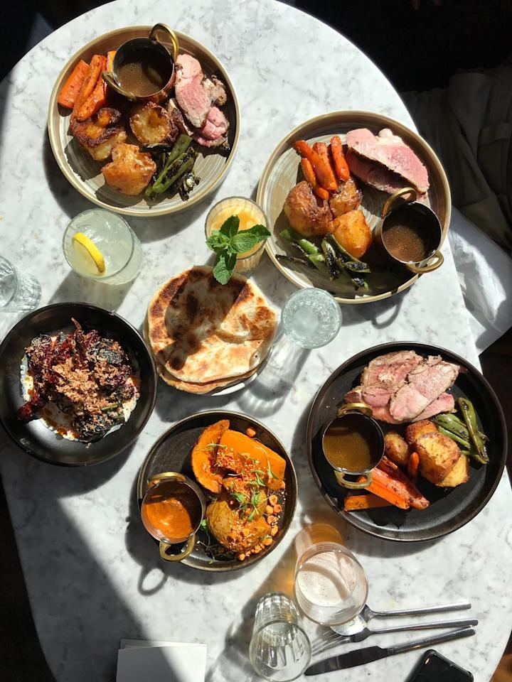 """<p>Winter is coming. And it's as if our stomachs know that this means one thing: it's Sunday roast season. </p><p>Whether you're a lifelong vegetarian or a Yorkshire-pudding-till-I-die kind of person, Sunday roast is a weekend staple, and London has a lot to offer in terms of trimmings, luxurious décor and gravy galore.</p><p>From traditional pubs, such as <a href=""""https://www.elle.com/uk/fashion/a23662901/alexa-chung-everyone-copied-school/"""" target=""""_blank"""">Alexa Chung</a>-approved <a href=""""https://royaloaklondon.com/"""" target=""""_blank"""">The Royal Oak</a> on Columbia Road, to Michelin-starred Spanish restaurant <a href=""""https://www.saborrestaurants.co.uk/"""" target=""""_blank"""">Sabor</a>, there really is something for everyone when it comes to the most important meal of the weekend. </p><p>Even better, if you're a big group of friends you can tuck into bountiful sharing plates on the menu at <a href=""""https://www.marksmanpublichouse.com/"""" target=""""_blank"""">The Marksman</a> - pot roast Tamworth belly with sausage and baked beans anyone?</p><p>If that's left your mouth watering, here's our pick of the best spots to spend a long afternoon chowing down on a plateful of gravy-soaked food at <a href=""""https://www.coalroomspeckham.com/"""" target=""""_blank"""">Coal Rooms</a> in Peckham or trying out a Sunday roast with an Indian twist at Brixton's <a href=""""https://kricket.co.uk/"""" target=""""_blank"""">Kricket</a>. </p><p>There really is no better way to spend a Sunday afternoon. <br></p>"""