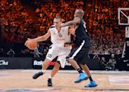 <b>16. Boston Celtics</b><br> <b>Rudy Gobert (PF/C, 20 years, 7-2, 238, Cholet, international):</b> After contending for a championship for the past five years – and winning one – the Celtics' window finally appears to have closed, ushered in to a large degree by the unfortunate knee injury suffered by Rajon Rondo. The team will need to start thinking about succession plans for Paul Pierce and Kevin Garnett; adding talent on the wing and in the frontcourt looks like a major priority. A swingman who can play together with the likes of Rondo and/or Avery Bradley and a big man who can play with Jared Sullinger and/or Garnett are two immediate targets the Celtics' front office might look at on draft night. GM Danny Ainge also has never been one to shy away from swinging for the fences if he sees a talented player he likes, regardless of position. Rudy Gobert would add significant size and length to the frontcourt and is a prospect the team can afford to wait on as he continues to fill out physically.