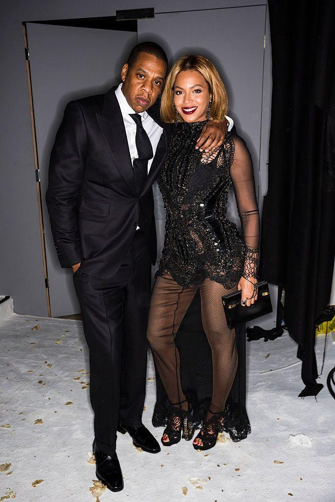 <p>The couple attended Tom Ford's AW15 collection viewing during NYFW.</p>