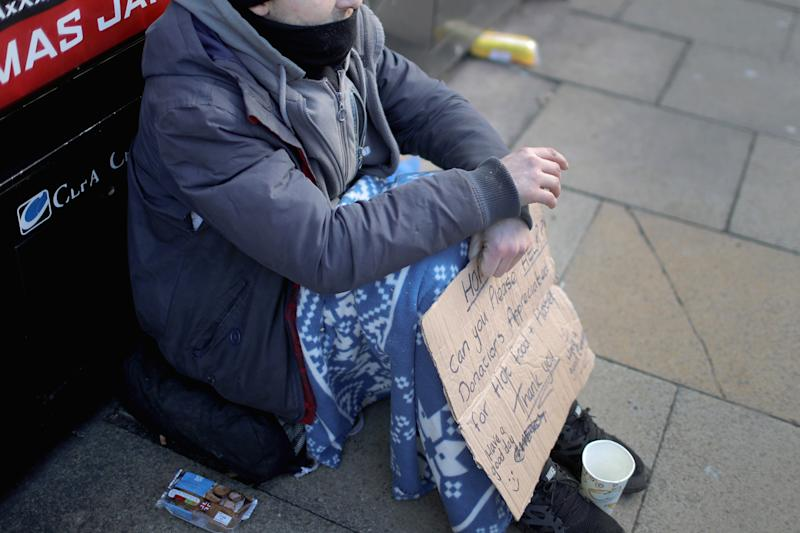 Begging: Havering council have proposed to ban begging from Romford town centre: Christopher Furlong/Getty Images