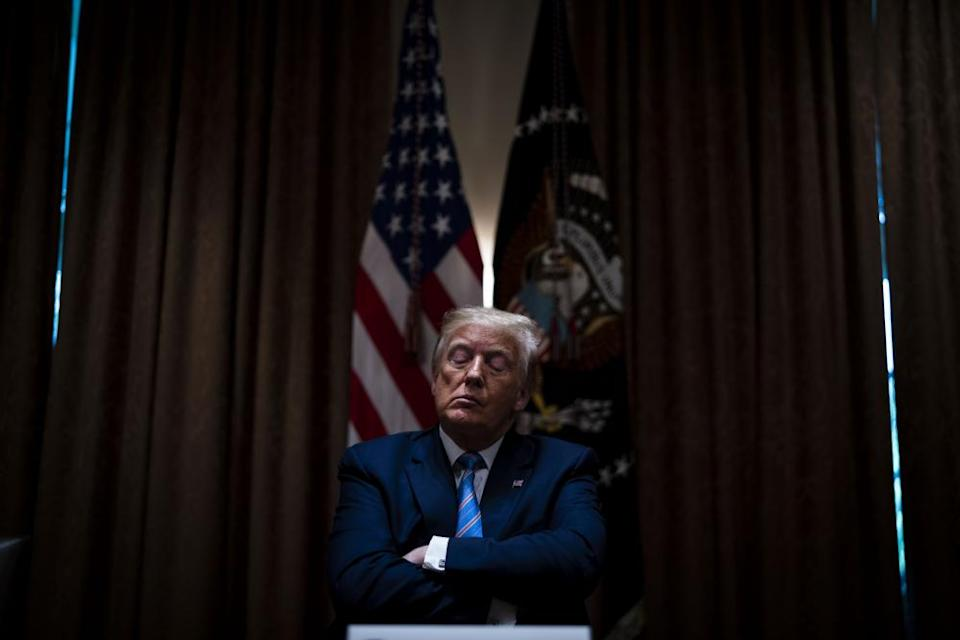 <span>Photograph: Doug Mills/Bloomberg/Getty Images</span>