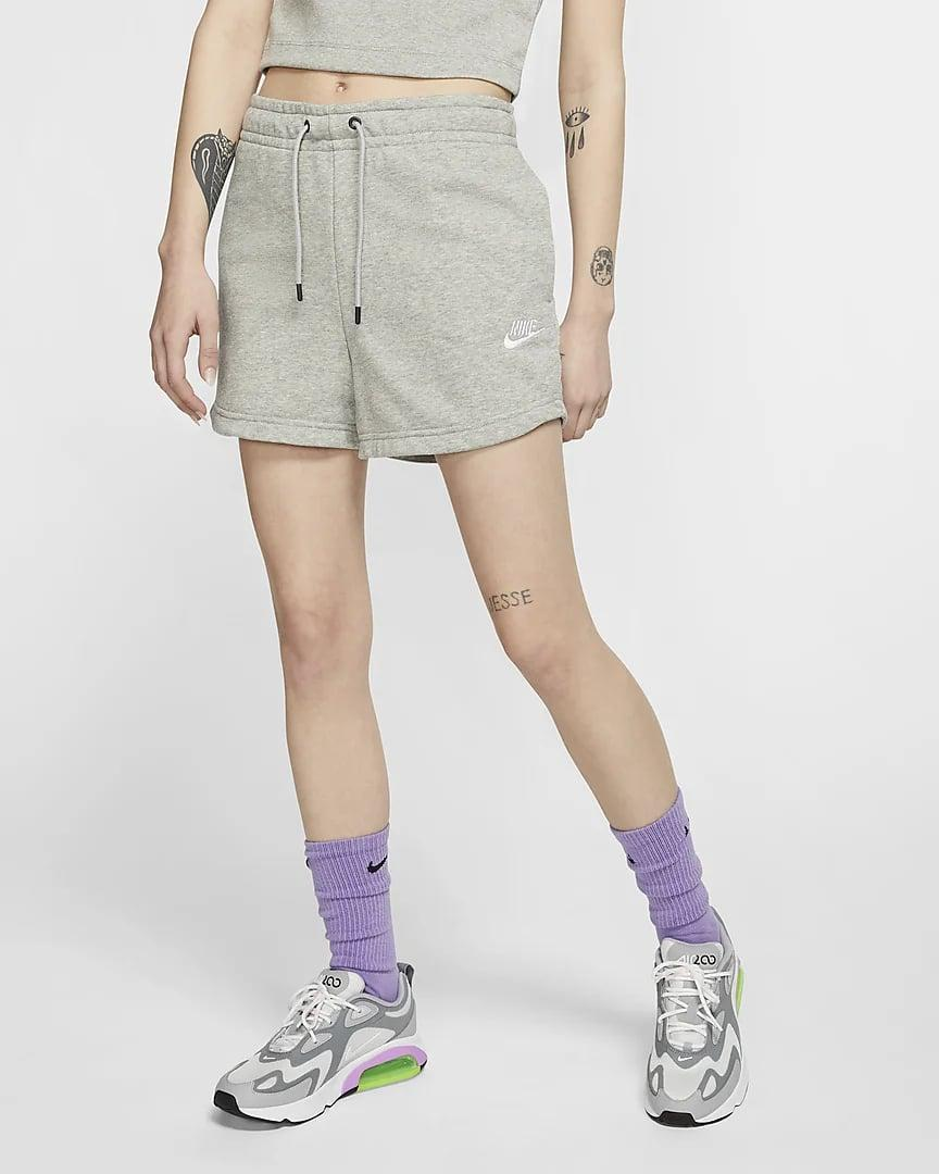 <p>These <span>Nike Sportswear Essential French Terry Shorts</span> ($40) are super comfortable, but they're also great for hiking or low-impact movement.</p>
